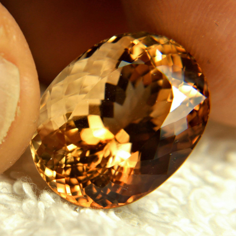 23.1 Carat Himalayan Golden Topaz - Superb