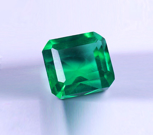 1.38 ct  Magnificent Color Top  Natural Zambian Emerald Certified