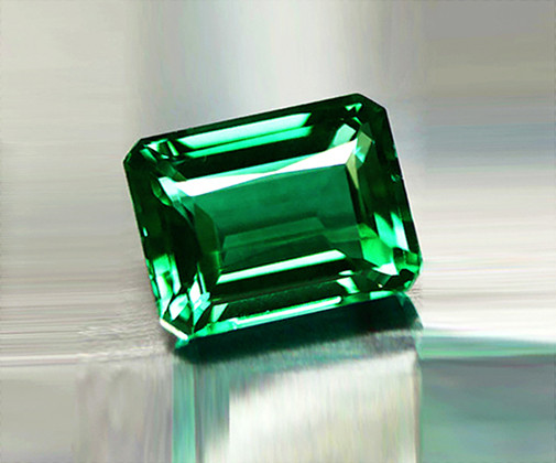 1.33 ct Extremely Bright And Glowing  Top Natural Emerald Certified!