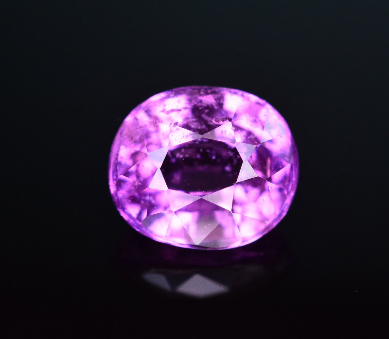 GIL Certified 1.07 Ct Natural Pink Sapphire