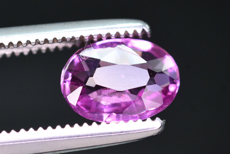 GIL Certified 1 Ct Natural Pink Sapphire