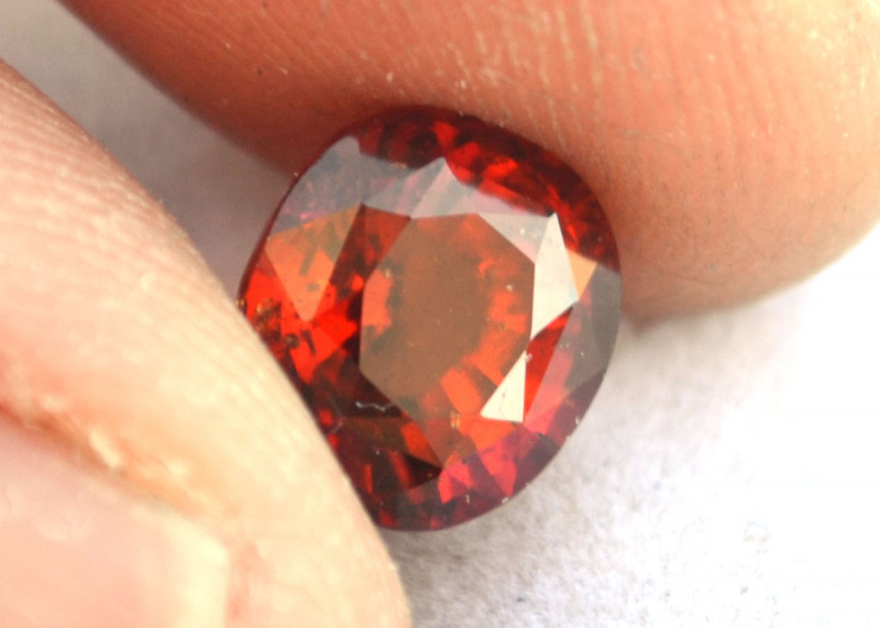 3.91 Carat Hessonite Garnet -- Richly Colored Stone
