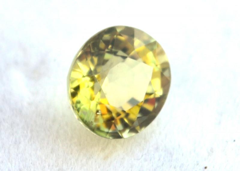 2.26 Carat Tourmaline -- Nice Greenish Yellow Stone