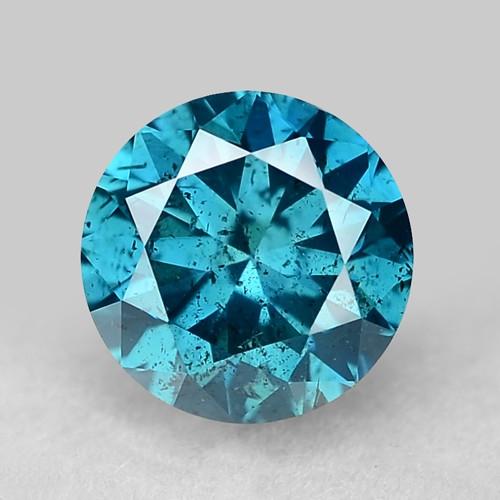 0.34 Ct Blue Diamond Top Class Gemstone Db14