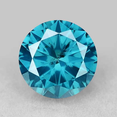0.32 Ct Blue Diamond Top Class Gemstone DB18