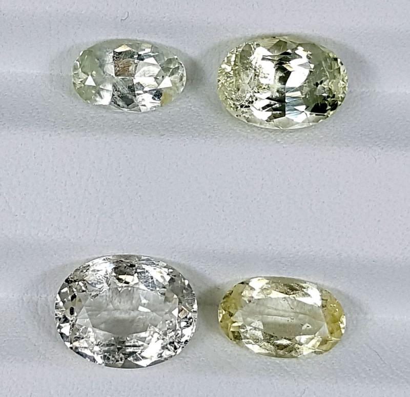 8Crt Heliodor Lot  Best Grade Gemstones JI120