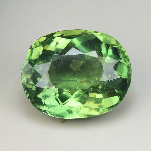 7.53 Cts Green Apatite ~ Awesome Color and Luster ~ Untreated AP21