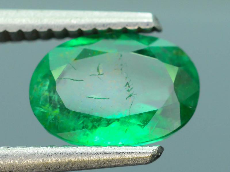 AIG Certified 1.71 ct Zambian Emerald SKU-9