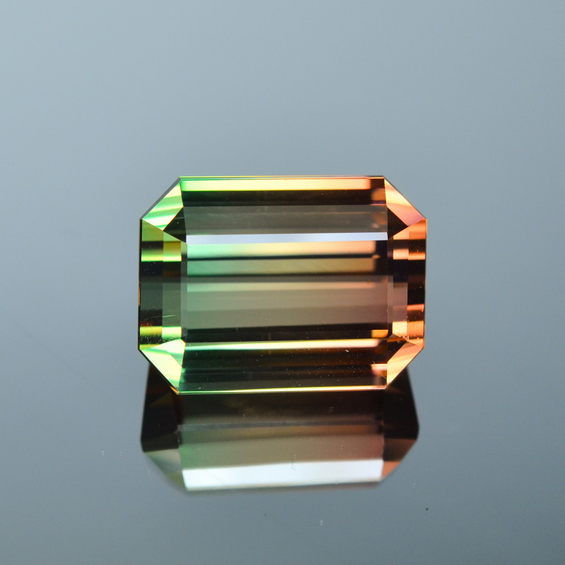 42.98 Cts Wonderful Attractive Natural Bi-Colour Tourmaline