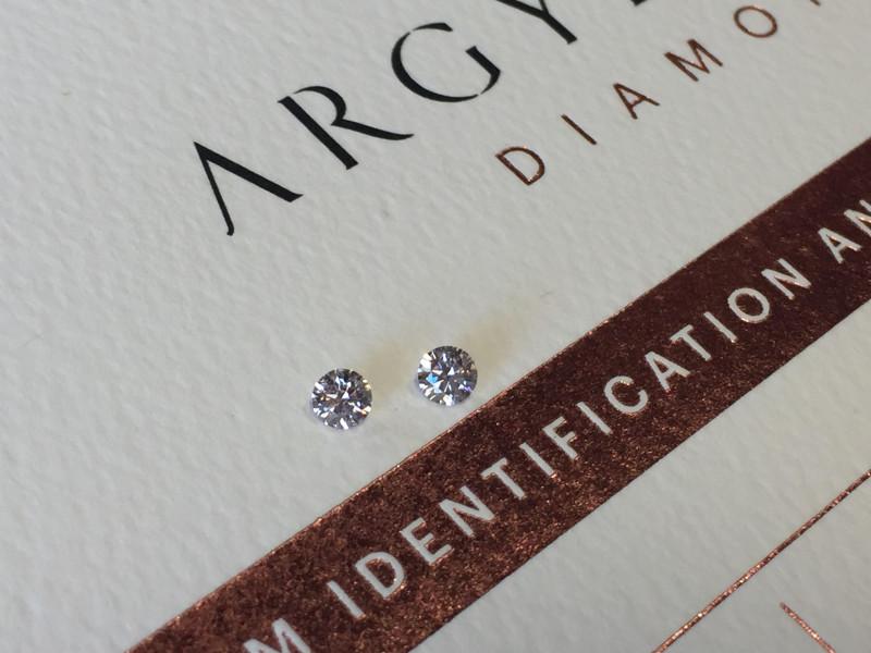 2=0.20ct NCP SIAV Certified Argyle Pink Diamonds
