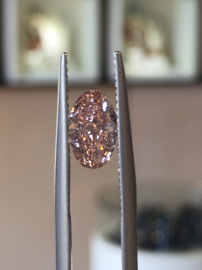 1.09ct GIA Certified Pink Diamond