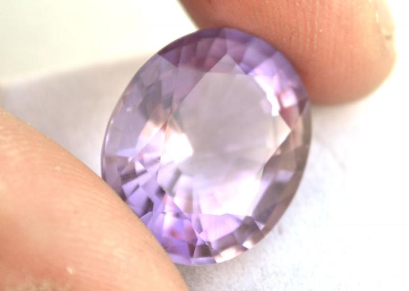 16.28 Carat Amethyst -- Great Fancy Oval Cut Stone