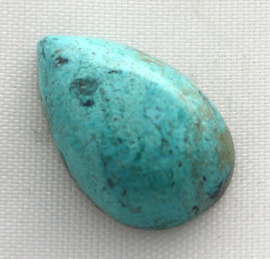 8.25 Natural Smooth Chrysocolla Cabochon 0010