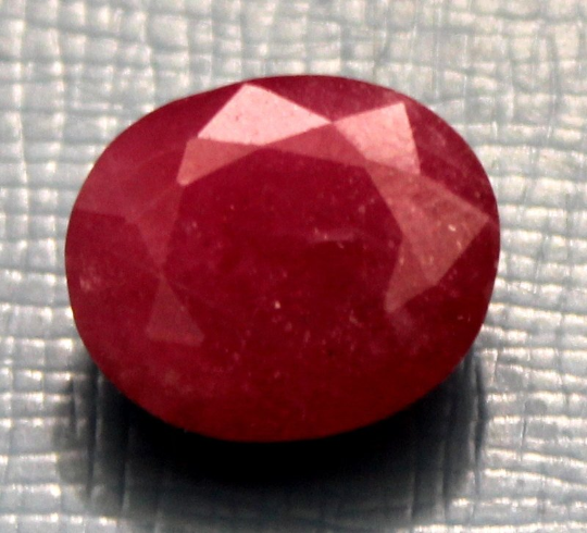 12.90 Carat Natural Glass Filled Ruby faceted cut loose gemstone 0004