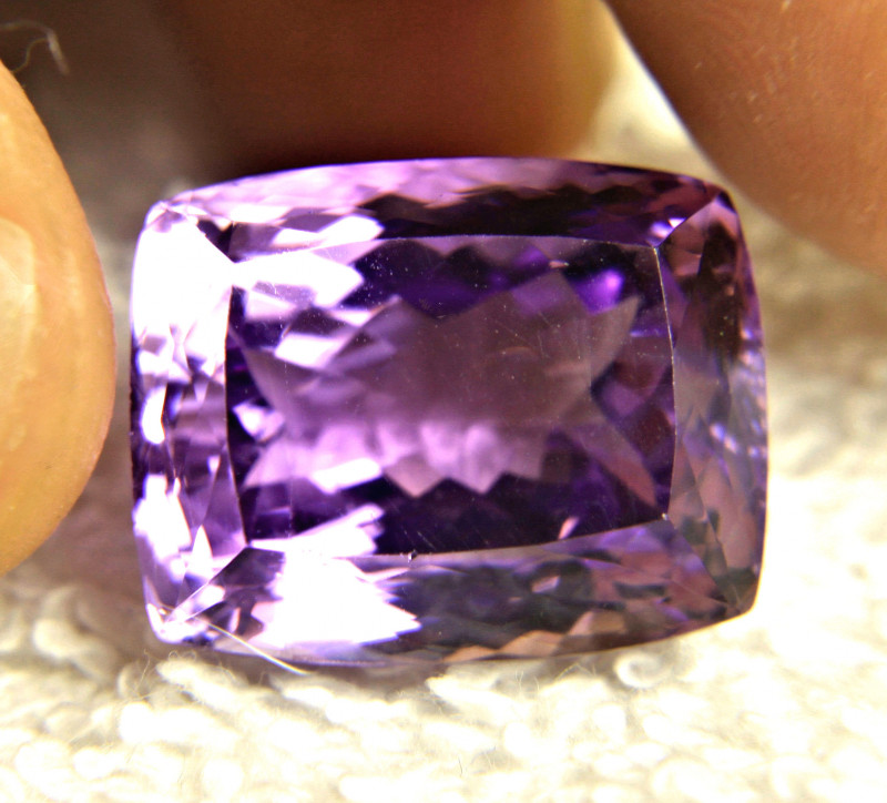 29.23 Carat Vibrant Purple VVS Brazil Amethyst - Gorgeous