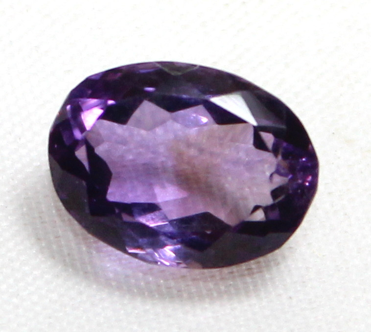 5.70 Cts Natural Amethyst faceted oose Gemstone 0004