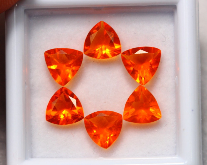 Ex-Luster 2.67Ct Natural Fire Orange Mexican Fire Opal Auction~ B05/01