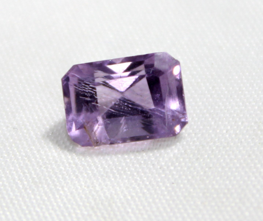 2.85 Cts Natural Indian Amethyst faceted Gemstone 0005