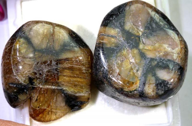 120.90-Cts Rare chiastolite stone  Adg-1648