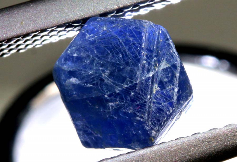 2.46- CTS  TRAPICHE SAPPHIRE CRYSTAL SPECIMEN  RG-3244