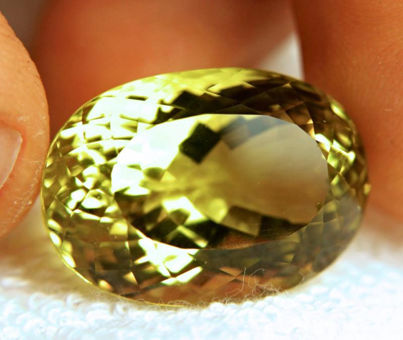 48.57 Carat VVS1 Vibrant Yellow Quartz - Gorgeous