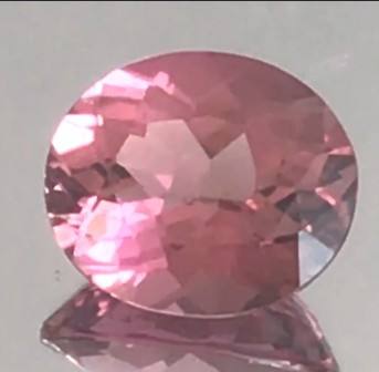 A Very Luminous 1.32ct Reddish Pink Tourmaline - G228