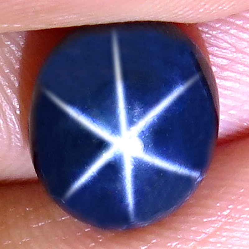 5.81 Carat Thailand Blue Star Sapphire - Gorgeous