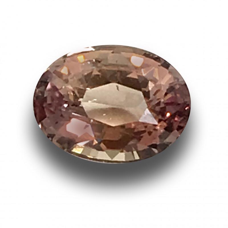 Natural Unheated Pinkish Orange Sapphire Loose Gemstone New