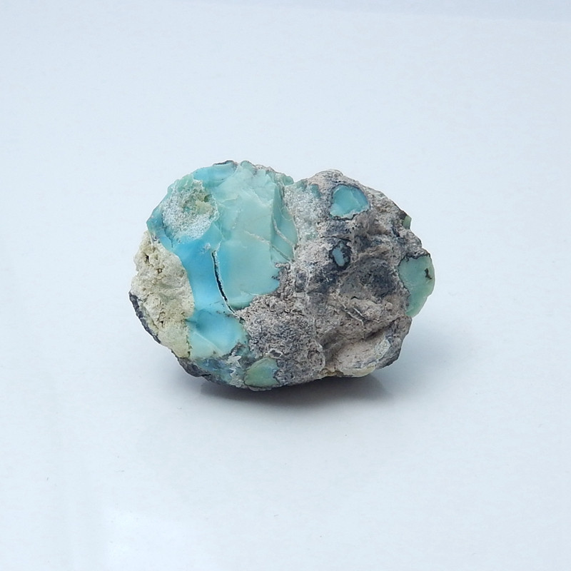 247cts Natural Chrysocolla Gemstone Spicemen(H2409)