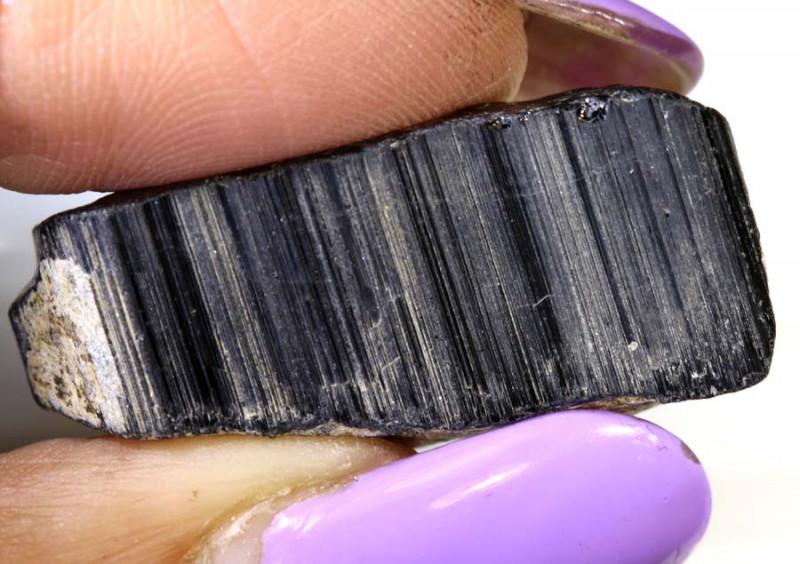 44.30-CTS TOURMALINE BLACK NATURAL ROUGH RG-3274