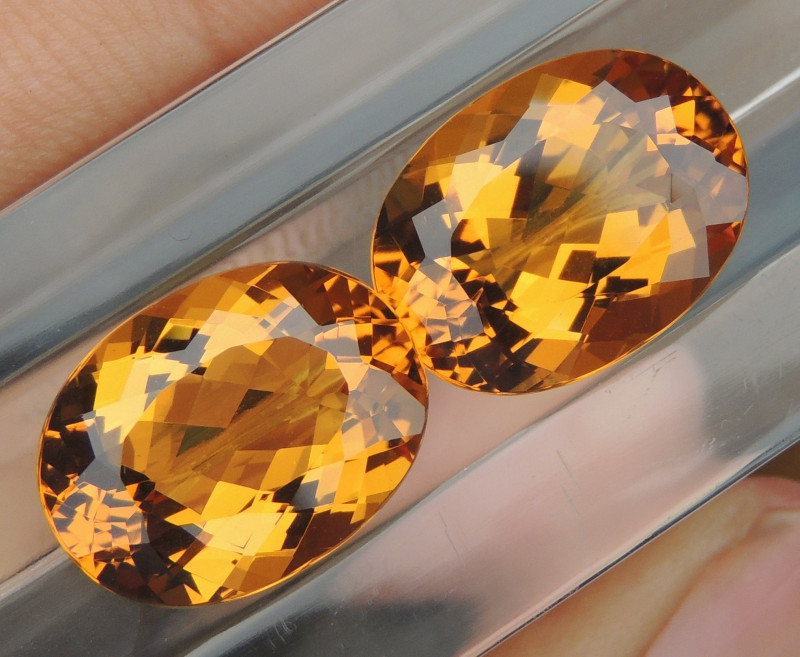 17.23cts Yellow Beryl,  Clean,