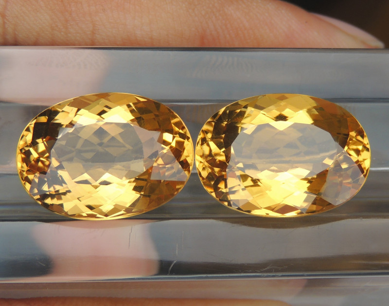 27.06cts Yellow Beryl,  Clean,