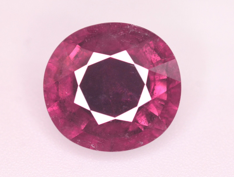 6.55 Ct Marvelous Color Natural Rubelite Tourmaline