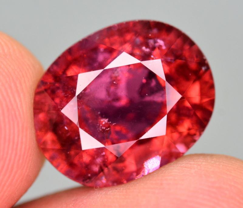 9.10  Ct Marvelous Color Natural Rubelite Tourmaline