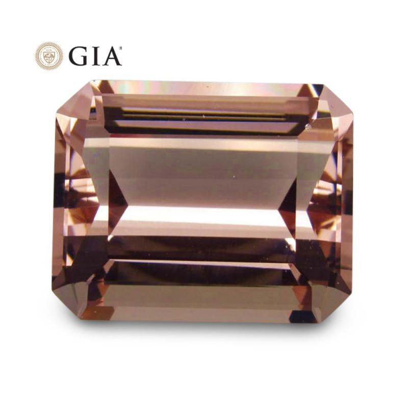 37.05 ct GIA Certified Morganite