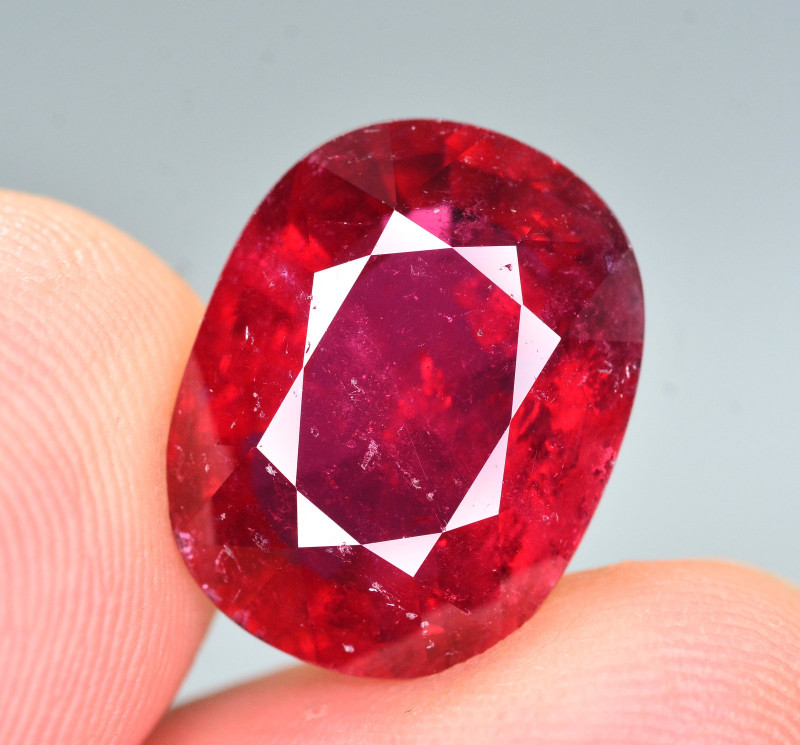8.35 Ct Marvelous Color Natural Rubelite Tourmaline