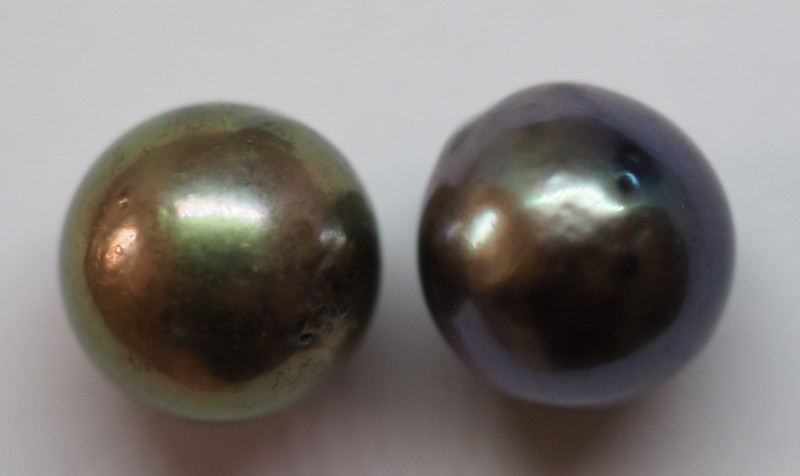 6.20CT PEARL PAIRS GREAT FOR EARINGS PL15