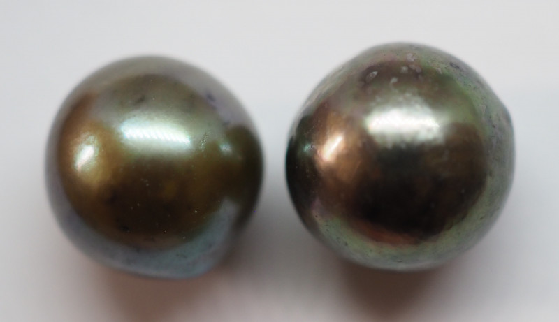 7.40CT PEARL PAIRS GREAT FOR EARINGS PL16