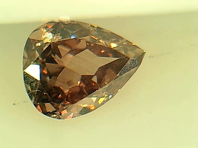 0.22ct Fancy Intense Purple Pink Diamond , 100% Natural Untreated