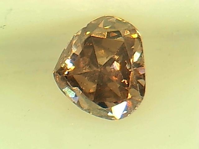 0.22ct Fancy INTENSE Orange Pink  Diamond , 100% Natural Untreated