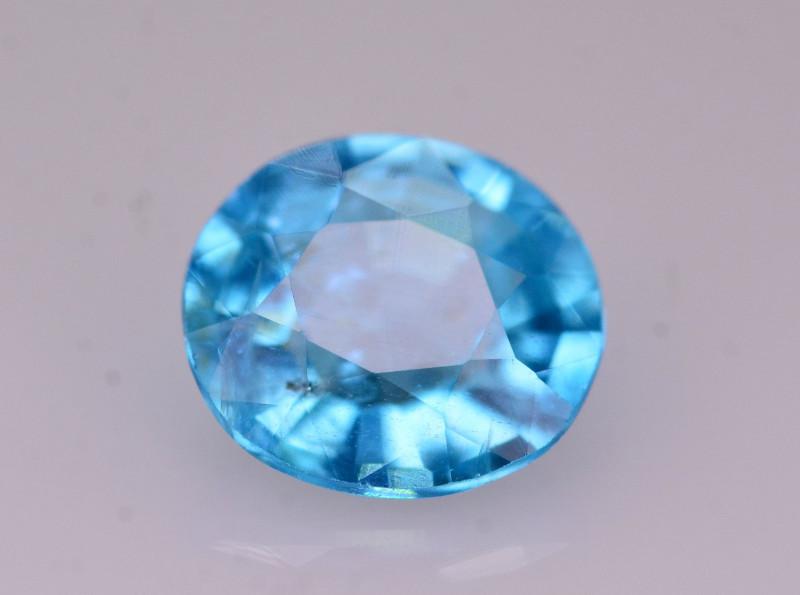 Rare 1 Ct Marvelous Color Natural Blue Apatite