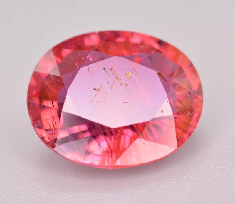 AAA Color 3.60 Ct Natural Rubelite Tourmaline