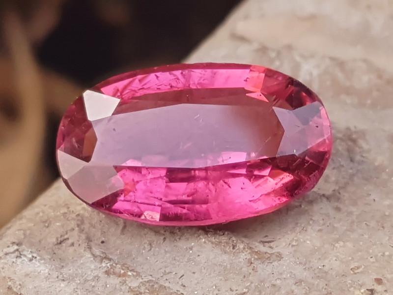 5 Ct Natural Transparent Rubellite Tourmaline Gemstone