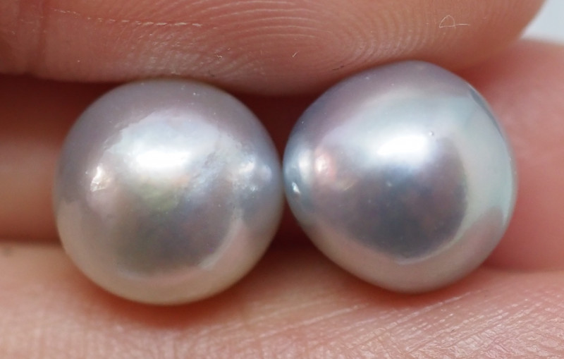 11.25CT PEARL PAIRS GREAT FOR EARINGS PL21