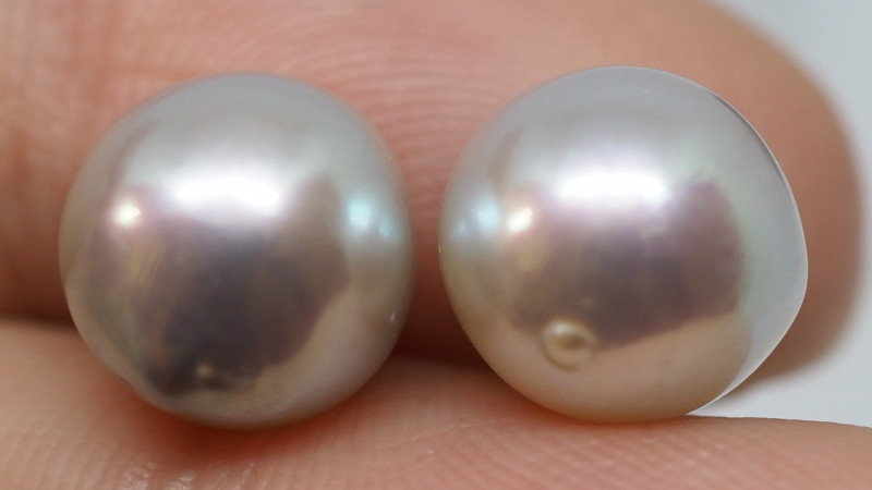 11.15CT PEARL PAIRS GREAT FOR EARINGS PL22
