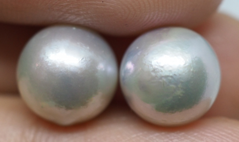 10.60CT PEARL PAIRS GREAT FOR EARINGS PL24