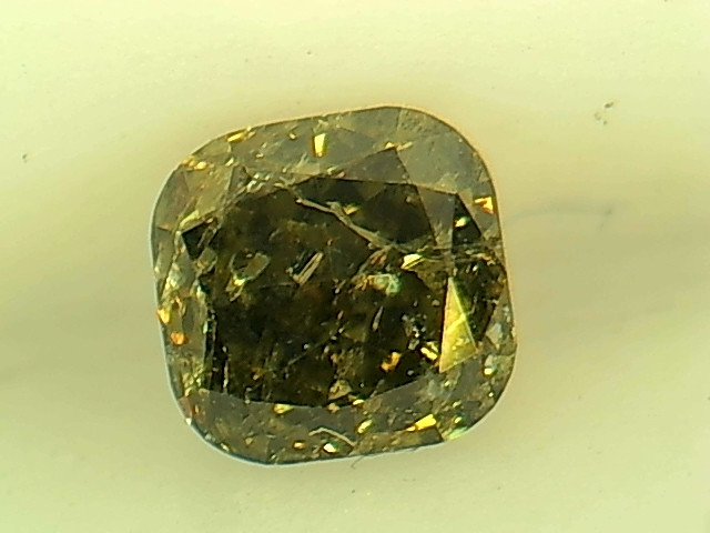 0.33ct Fancy Deep Green  Diamond , 100% Natural Untreated