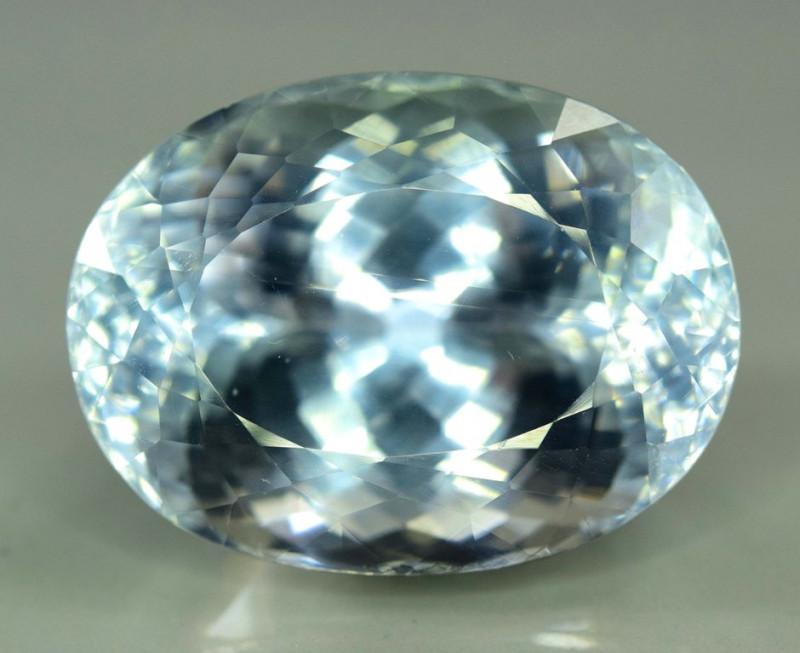 48.15 Carats  Top Quality Aqua Color Spodumene Gemstone