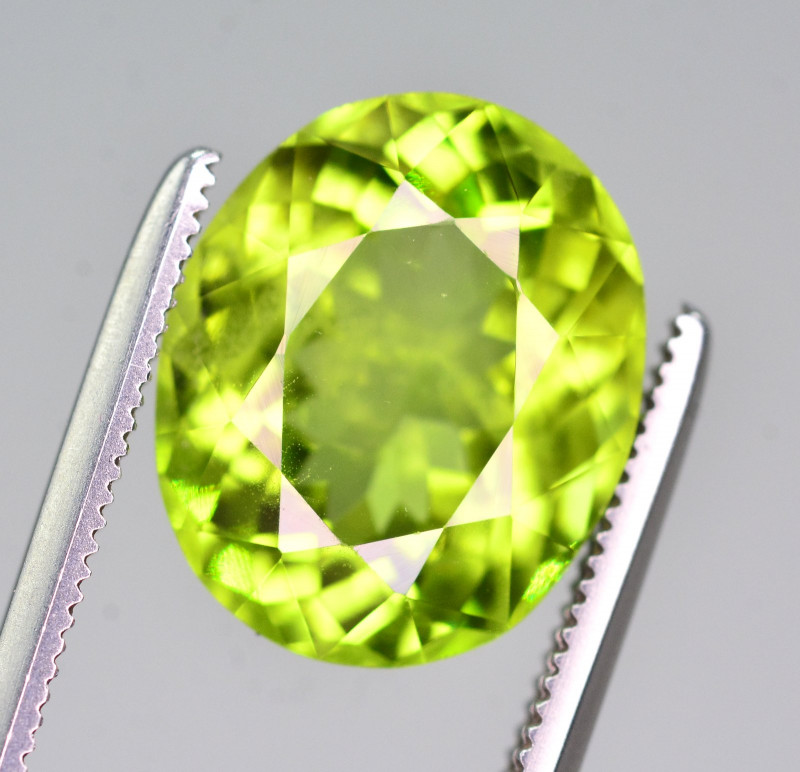 AAA Color 5.70 Ct Natural Himalayan Peridot