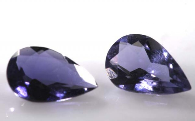 IOLITE NATURAL FACETED 1.15 CTS  LG-1175